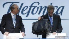 César Alierta e Isidró Fainé en una imagen de archivo. (Foto: EFE)