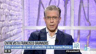 Francisco Granados en 'El programa de Ana Rosa'.
