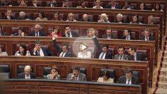 Bancada del PP en el Congreso de los Diputados. (Foto: Francisco Toledo)