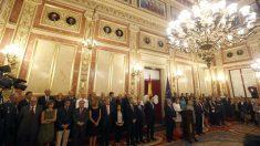 Acto de homenaje a las víctimas del terrorismo en el Congreso de los Diputados. (EFE)