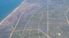 Así ha quedado la zona incendiada en el Espacio Natural de Doñana. (Foto: EFE)