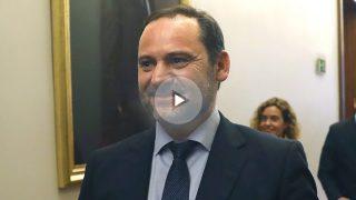El portavoz provisional del PSOE en el Congreso, José Luis Ábalos (Foto: Efe)