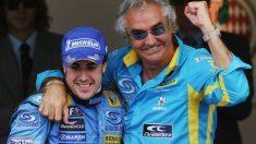 Flavio Briatore considera que el regreso de Fernando Alonso a Ferrari es una posibilidad real. (Getty)