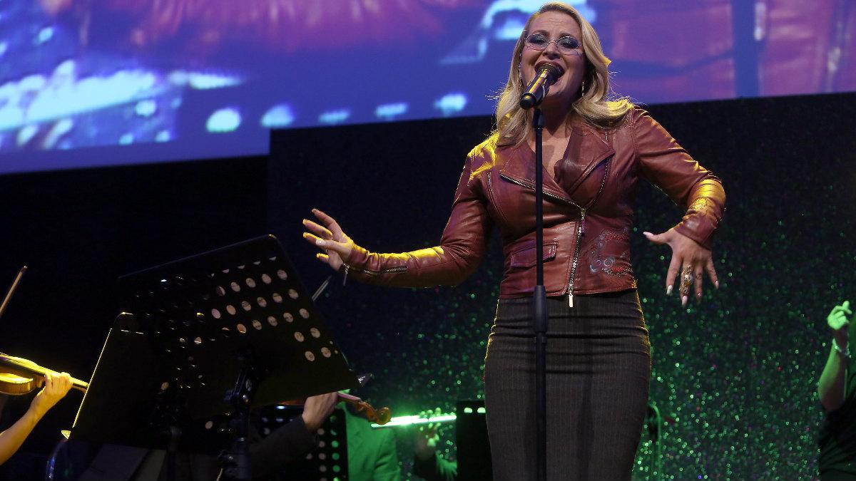 La cantante norteamericana Anastacia deslumbra con una voz privilegiada en cada concierto. Foto: Getty