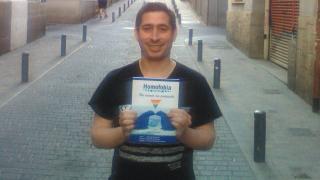 """J.Nicolás Ferrando, autor de """"Homofobia Seguros. Un mundo sin protección"""""""