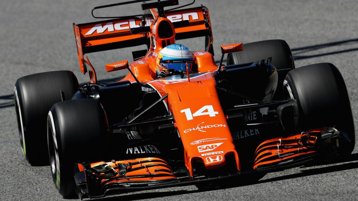 El motor Honda del McLaren de Fernando Alonso contará en el Gran Premio de Austria con 30 CV más de potencia. (Getty)