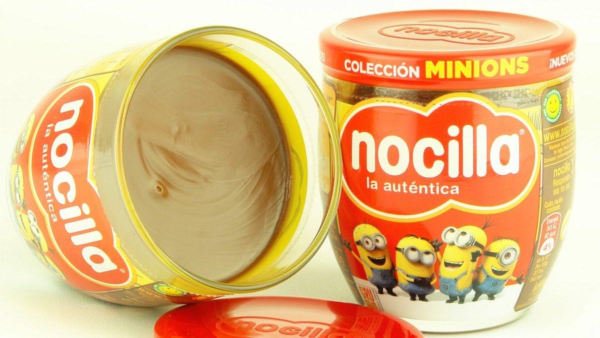 Envase de Nocilla.
