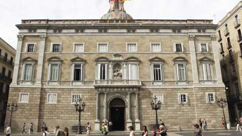 Palau de la Generalitat de Cataluña.
