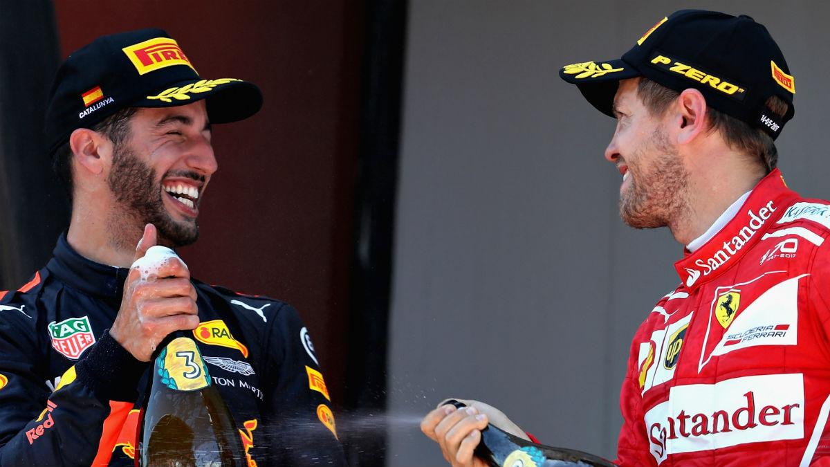 Desde Italia dan por hecho un acuerdo verbal entre Daniel Ricciardo y Ferrari para el desembarco del piloto australiano en Maranello en la temporada 2018. (Getty)