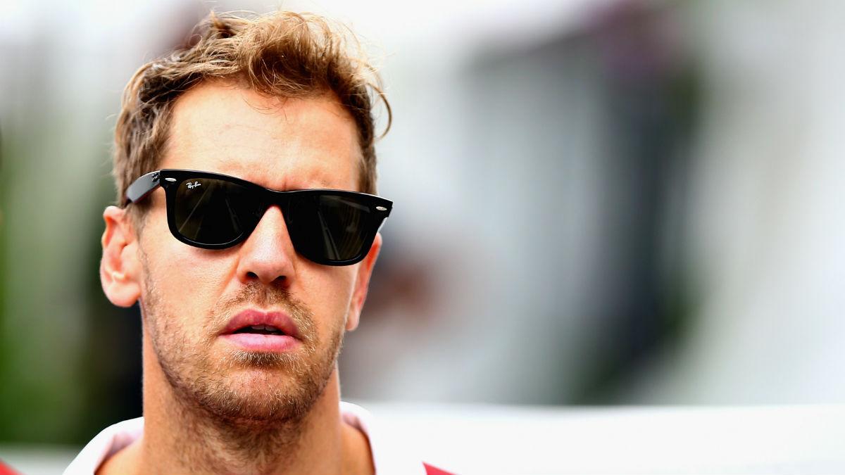La lamentable maniobra de Sebastian Vettel en el Gran Premio de Azerbaiyán de Fórmula 1 ha encontrado una serie de llamativos e inesperados defensores. (Getty)
