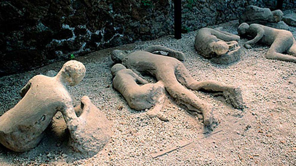 Los cadáveres de Pompeya son lo más curioso que podemos encontrar en la ciudad