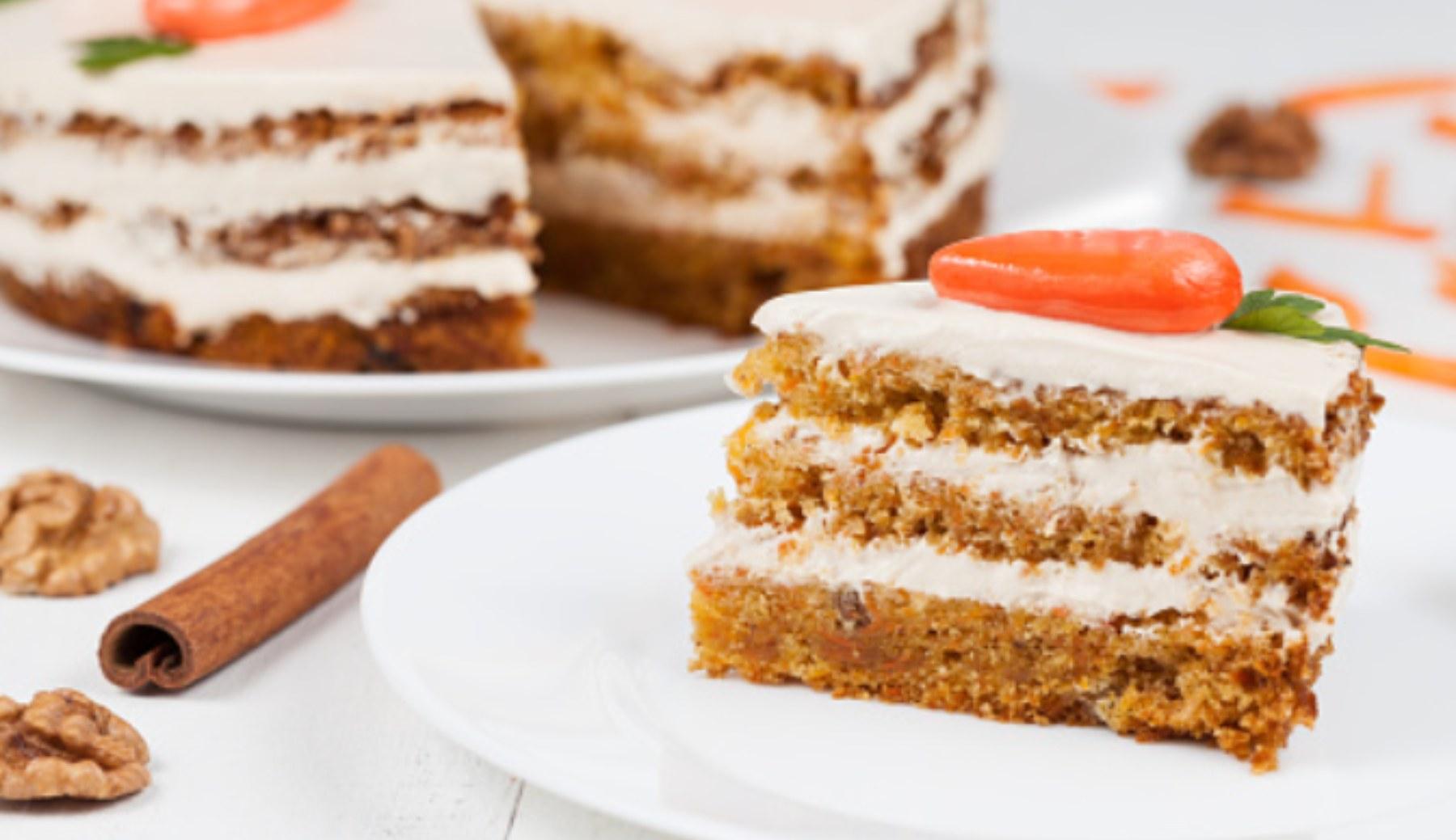 Tarta de zanahoria vegana casera: la auténtica carrot cake