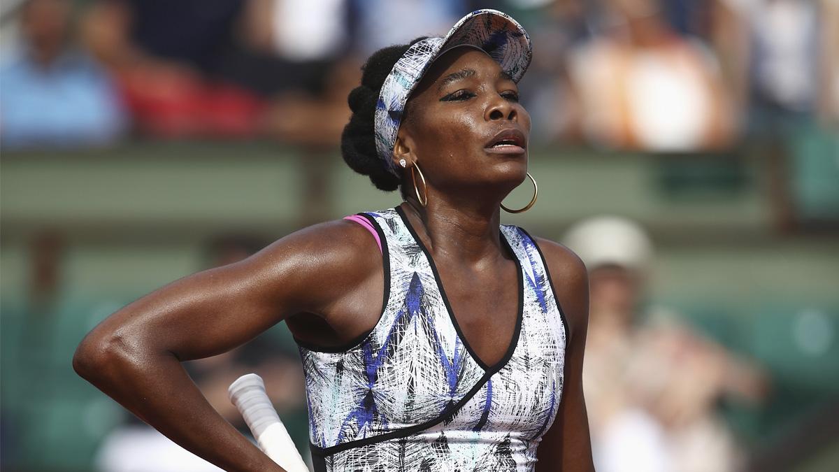Venus Williams durante el pasado Roland Garros (Foto: Getty)