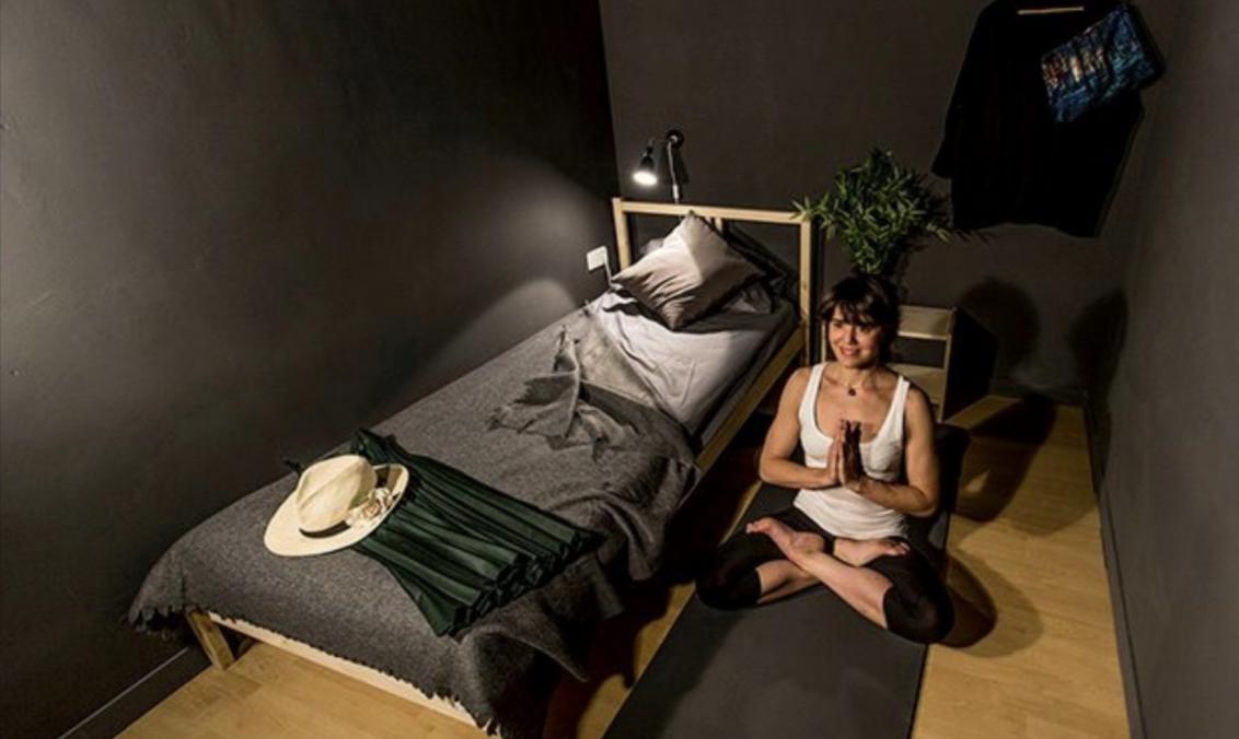 Una de las habitaciones de Siesta & Go (Foto: Siesta & Go)