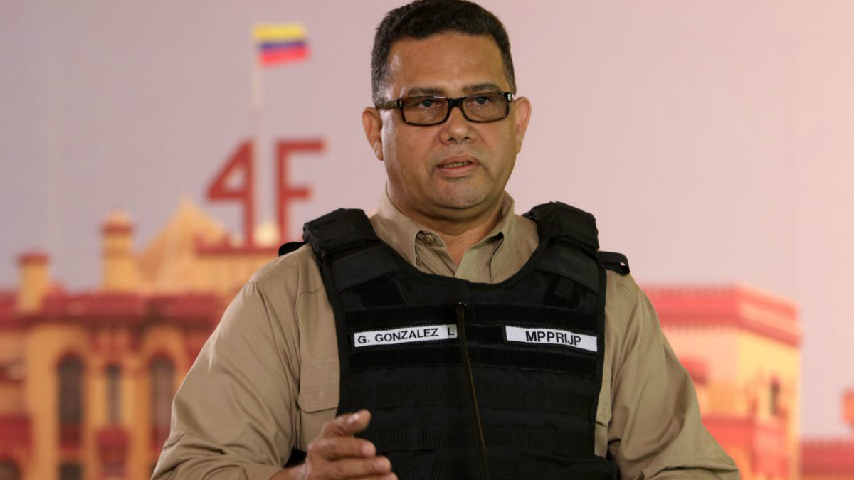 Gustavo González López, director del Sebin de Venezuela.