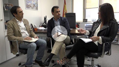 Fernando Martínez-Maíllo en un momento de la entrevista con OKDIARIO
