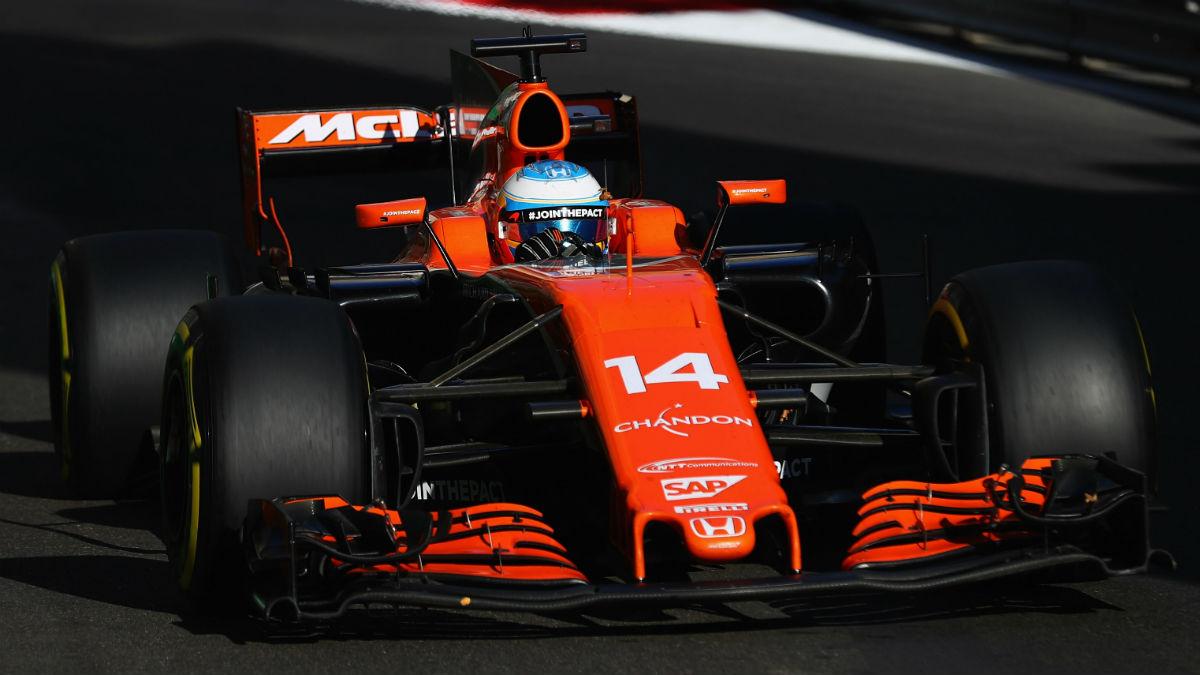 La última evolución del motor Honda de Fernando Alonso hace que los japoneses empiecen a ver la luz al final del tenebroso túnel en el que llevan tres años metidos. (Getty)