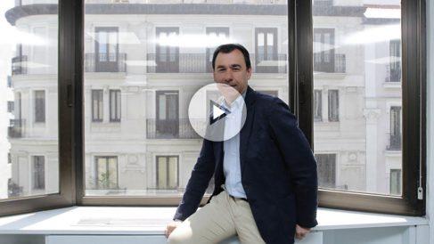 Fernando Martínez-Maíllo en su despacho de Génova.