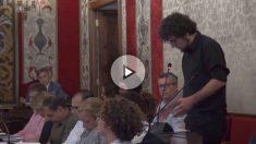 El concejal de la marca de Podemos en Alicante, Daniel Simón Pla