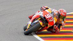 Marc Márquez hizo la pole en el GP de Alemania. (AFP)