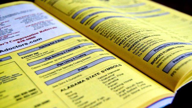 El renacimiento de p ginas amarillas las gu as en papel - Paginas amarillas ferrol ...