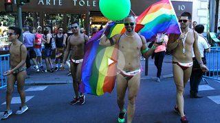Colorido y celebración en la marcha del World Pride 2017 (Foto: Francisco Toledo)