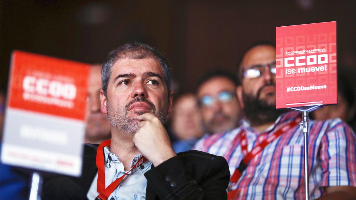 Unai Sordo, secretario general de CCOO. (Foto: EFE)