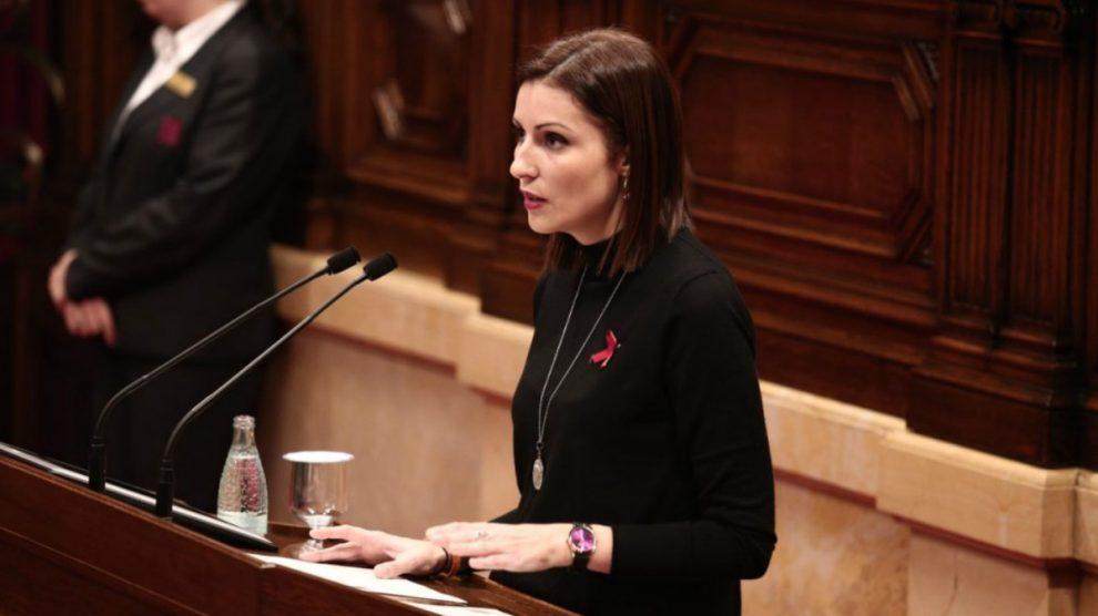 Lorena Roldán, diputada de Ciudadanos en el Parlamento catalán.