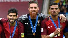 Portugal gana el bronce en la Copa Confederaciones tras derrotar a México. (AFP)