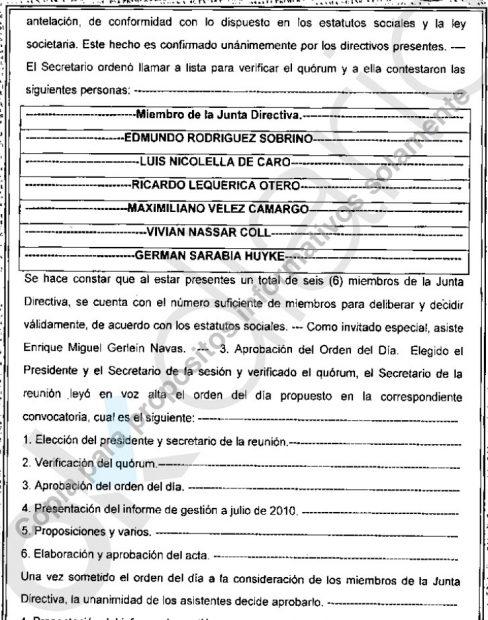 El Canal negoció 100 kilos de inversión en Guinea a través de Obiang hijo con 20 en mordidas