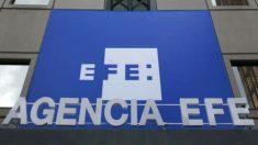 Sede de la Agencia Efe, en la avenida de Burgos de Madrid.