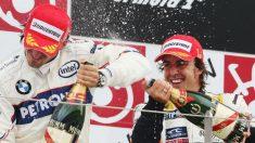 Fernando Alonso ha declarado que le gustaría mucho ver de vuelta en la Fórmula 1 a Robert Kubica, a quien considera como el piloto más talentoso con el que ha competido. (Getty)