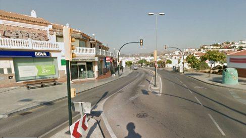Barrio malagueño de Puerto de la Torre, donde se produjo el suceso.