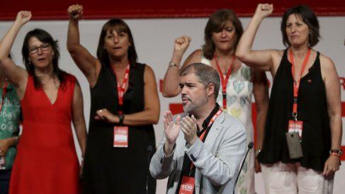 El secretario general de CCOO, Unai Sordo (Foto: EFE).