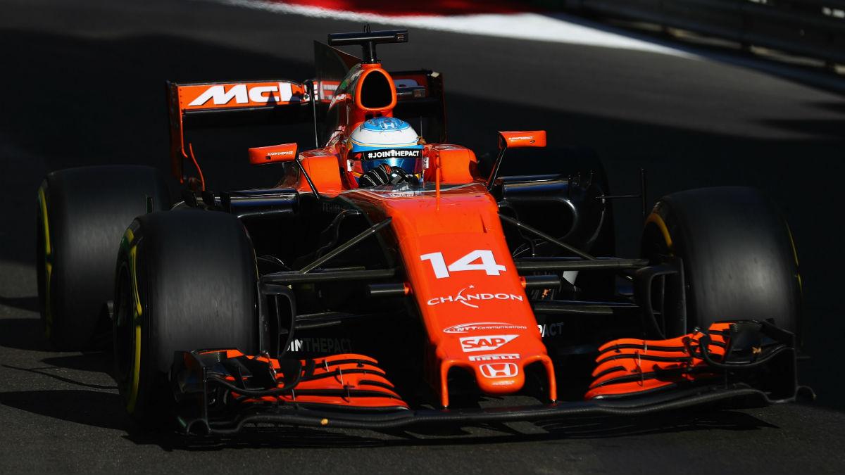 Fernando Alonso reconoce esperar grandes cosas de la evolución del motor Honda que estrena McLaren este fin de semana en Austria. (Getty)