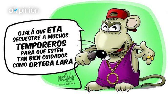 Pablo Hasél es una rata de cloaca
