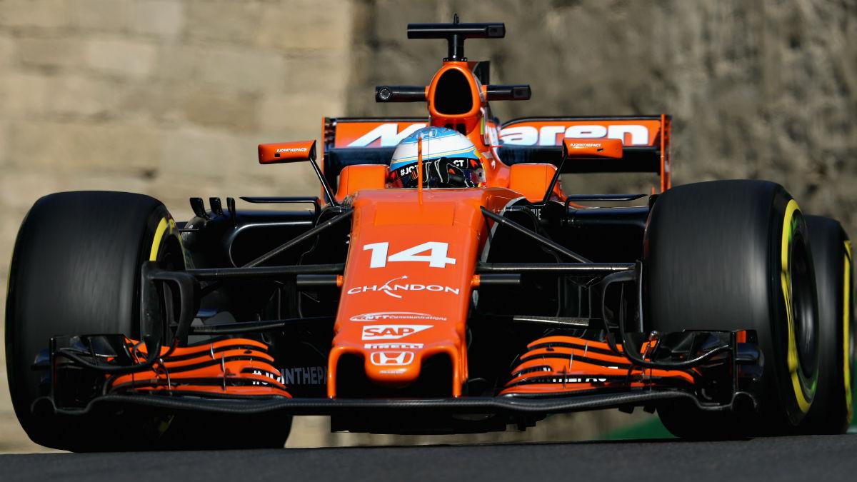 Según las predicciones de McLaren, el MCL32 de Alonso debería permitir al asturiano pelear en la zona media de la parrilla en Austria. (Getty)