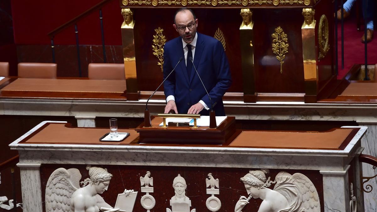 El primer ministro de Francia, Edouard Philippe (Foto: AFP)