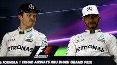 Nico Rosberg ha puesto la mano en el fuego por Lewis Hamilton, asegurando que el inglés no hizo nada para provocar al de Ferrari en Bakú. (Getty)
