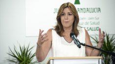 Susana Díaz, presidenta de la Junta de Andalucía. (Foto: EFE)