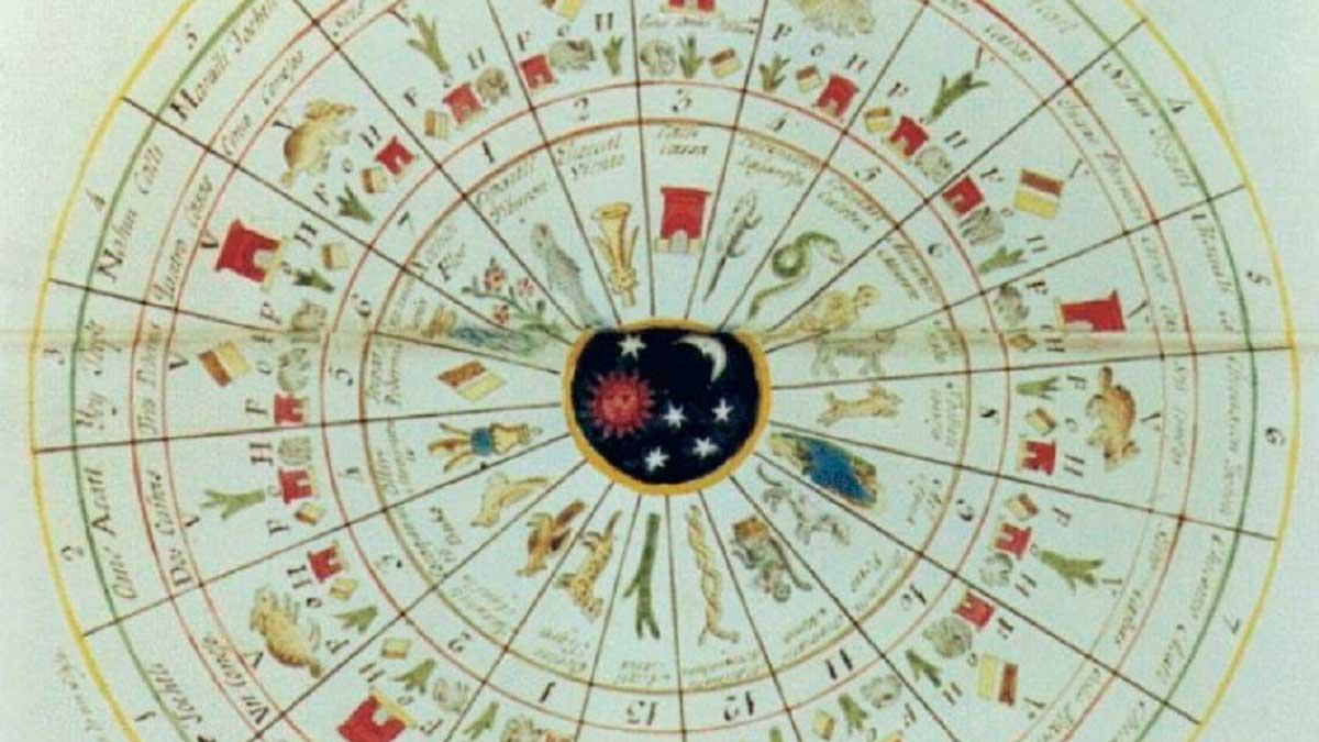 Imagen del calendario gregoriano