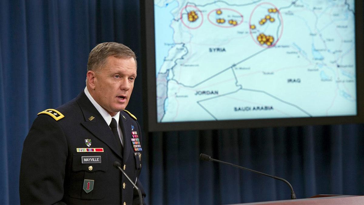 El portavoz del Pentágono Jeff Davis en una imagen de archivo.