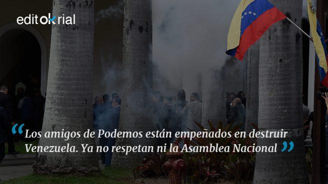 Así funcionan los podemitas venezolanos