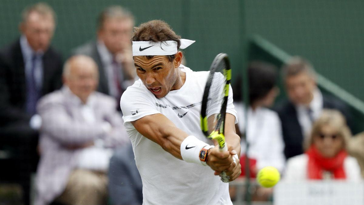 Nadal no da opciones y se mete en tercera ronda. (AFP)