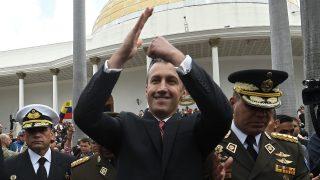 El vicepresidente de la dictadura de Venezuela, Tareck el Aissami. (AFP)