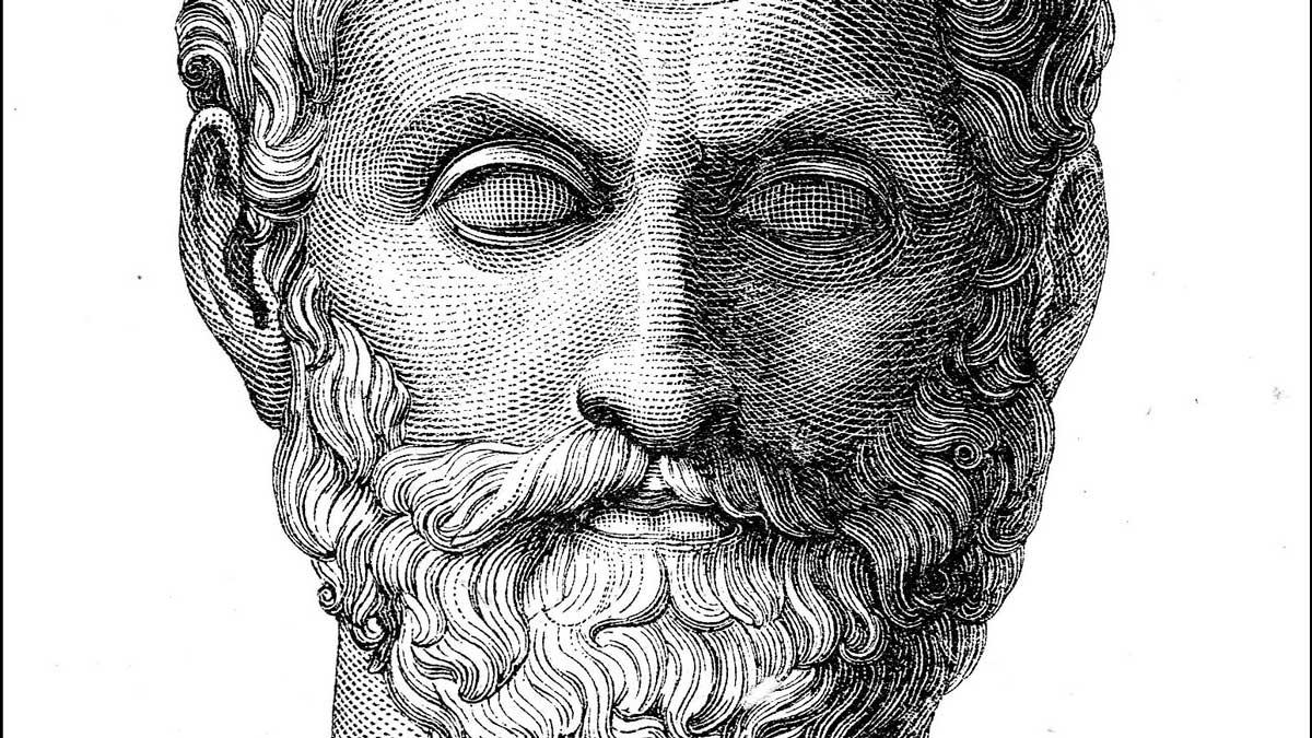 Tales de Mileto fue uno matemático muy importante en la Antigua Grecia