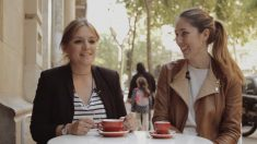 Melania e Isabel, fundadoras de Share a coffee for
