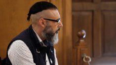 David Oubel, conocido como el parricida de Moraña, durante el juicio. EFE