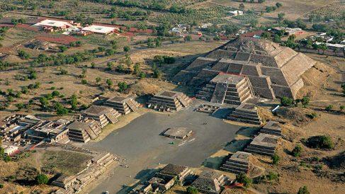 La ciudad de Teotihuacán no es tan conocida, pero es impresionante