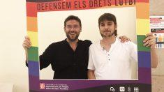 Albano Dante Fachin y Joan Giner. (Foto: Podemos Cataluña)